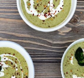 Άκης Πετρετζίκης: Σούπα μπρόκολο βελουτέ με πολλά μυρωδικά & απίθανη γεύση  - Κυρίως Φωτογραφία - Gallery - Video