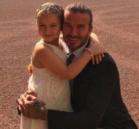 Ο Ντέιβιντ Μπέκαμ ο διασημότερος χαζομπαμπάς του κόσμου  - Δείτε την ανάρτηση του για την κόρη του Χάρπερ! - Κυρίως Φωτογραφία - Gallery - Video