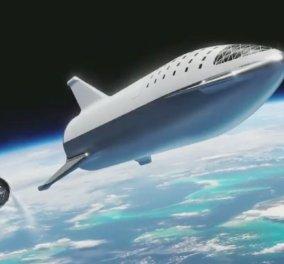 Έλον Μασκ: Ιδού ο νέος του πύραυλος αλλά και η απόλυση 10% των εργαζομένων της Space X (φώτο-βίντεο) - Κυρίως Φωτογραφία - Gallery - Video