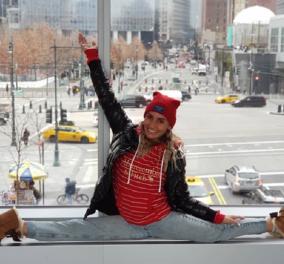 """Άλλο ένα ταξιδάκι τώρα: Στη Νέα Υόρκη με """"lovebirds"""" τη Βασιλική Βασιλική Μιλλούση και τον Λευτέρη Πετρούνια - Οι πόζες της σούπερ αθλήτριας (φώτο) - Κυρίως Φωτογραφία - Gallery - Video"""