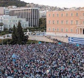 Συλλαλητήριο για την Μακεδονία: Πάνω από 3.000 λεωφορεία από την Βόρεια Ελλάδα - Οι ομιλητές - Οι κυκλοφοριακές ρυθμίσεις  - Κυρίως Φωτογραφία - Gallery - Video