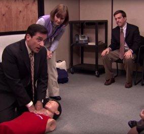 Απίστευτο: Έσωσε την ζωή μιας γυναίκας επειδή θυμήθηκε την σκηνή με το CPR της πασίγνωστης σειράς The office - Κυρίως Φωτογραφία - Gallery - Video