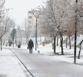 """Καιρός: Η """"Σοφία"""" έντυσε στα λευκά τη χώρα - Ποιοι δρόμοι είναι κλειστοί - Αναλυτική πρόγνωση για σήμερα ( φώτο - βίντεο) - Κυρίως Φωτογραφία - Gallery - Video"""