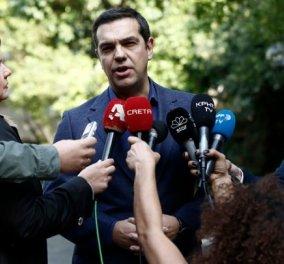 Αλέξης Τσίπρας: Ζητώ ψήφο εμπιστοσύνης -Δεν πρόκειται να δειλιάσω μπροστά στο εθνικό όφελος (βίντεο) - Κυρίως Φωτογραφία - Gallery - Video