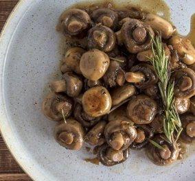 Άκης Πετρετζίκης: Μανιτάρια στον φούρνο – Μια εύκολη και αρωματική συνταγή - Κυρίως Φωτογραφία - Gallery - Video