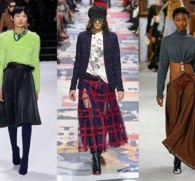 Οι φούστες που θα βάλετε από εδώ και πέρα το 2019: 20 προτάσεις από διάσημο γαλλικό περιοδικό (φωτό) - Κυρίως Φωτογραφία - Gallery - Video