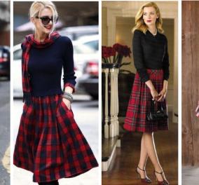 Έχετε σκωτσέζικη φούστα; Ιδού 29 φανταστικά γυναικεία outfits που θα την απογειώσουν - Φώτο  - Κυρίως Φωτογραφία - Gallery - Video