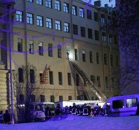 Αγία Πετρούπολη: Κατέρρευσε τμήμα πανεπιστημιακού κτιρίου -Συγκλονίζουν τα βίντεο  - Κυρίως Φωτογραφία - Gallery - Video
