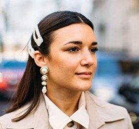 Είστε έτοιμες να κοπιάρετε 45 διαφορετικά χτενίσματα από Street Style; - Στους δρόμους του Παρισιού (φώτο) - Κυρίως Φωτογραφία - Gallery - Video