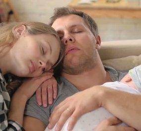 Έρευνα: Πόσα χρόνια ύπνου χάνουν οι νέοι γονείς λόγω του μωρού τους; - Κυρίως Φωτογραφία - Gallery - Video