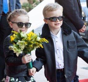 Τι κουκλιά είναι αυτά; - Η πριγκίπισσα Γκαμπριέλα του Μονακό και ο πρίγκιπας Ζακ αληθινοί ροκ σταρ στους δρόμους του πριγκιπάτου (φώτο) - Κυρίως Φωτογραφία - Gallery - Video