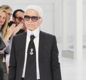 """Καρλ Λάγκερφελντ: Η τελευταία επιθυμία του """"Κάιζερ"""" της μόδας - Που και πως ήθελε να ταφεί - Κυρίως Φωτογραφία - Gallery - Video"""