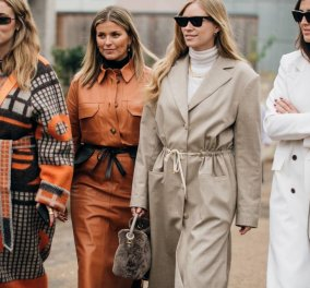 Η Vogue μας παρουσιάζει τις καλύτερες Street Style εμφανίσεις από την εβδομάδα μόδας του Λονδίνου - Φώτο  - Κυρίως Φωτογραφία - Gallery - Video