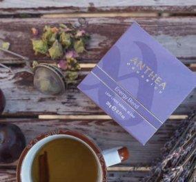 Made in Greece τα Anthea Organics: Τα πιο απολαυστικά ροφήματα του χειμώνα με ελληνικά βιολογικά αρωματικά φυτά & βότανα ανώτερης ποιότητας - Κυρίως Φωτογραφία - Gallery - Video