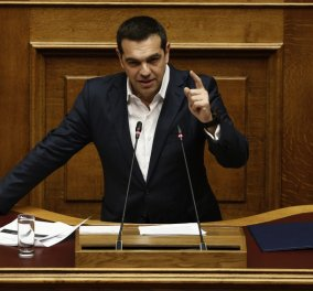 LIVE η ομιλία του Αλέξη Τσίπρα στη βουλή: - «Στην Ελλάδα οι εκλογές θα γίνουν στο τέλος της τετραετίας, πάρτε το χαμπάρι» - Κυρίως Φωτογραφία - Gallery - Video