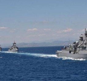 Ξεκινά η «Γαλάζια Πατρίδα» – Η Τουρκία δείχνει τη δύναμή της με τον στόλο της σε Αιγαίο και Μαύρη Θάλασσα - Κυρίως Φωτογραφία - Gallery - Video