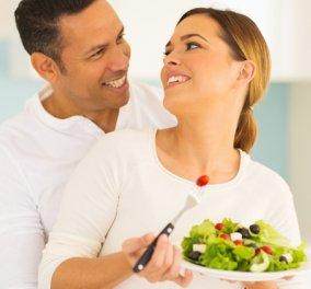 Ο έρωτας περνάει από το στομάχι, το ίδιο και η δίαιτα - Η ιδανική διατροφή για ένα ζευγάρι - Κυρίως Φωτογραφία - Gallery - Video