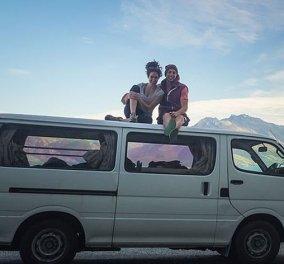 Ζευγάρι παράτησε την πολυτελή ζωή του για να ζήσει σε ένα... van -  Κάνουν το γύρο του  κόσμου  (φωτό) - Κυρίως Φωτογραφία - Gallery - Video