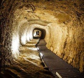 Eυπαλίνειο όρυγμα: Η άγνωστη πηγή 2.500 ετών στη Σάμο  - Μια  σήραγγα 2χλμ. στην Αρχαία Ελλάδα - Κυρίως Φωτογραφία - Gallery - Video