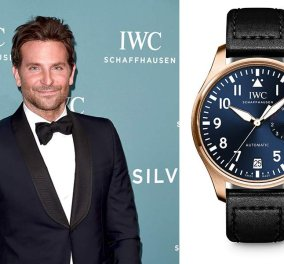 Ο Bradley Cooper θα φορέσει το ρολόι του μεγάλου πιλότου IWC στην τελετή των Όσκαρ 2019 για φιλανθρωπικό σκοπό - Κυρίως Φωτογραφία - Gallery - Video