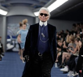 Σήμερα κλαίει ακόμα και το περίφημο σήμα της Chanel θρηνώντας τον ... άξιο διάδοχο Καρλ Λάγκερφελντ (φώτο)  - Κυρίως Φωτογραφία - Gallery - Video