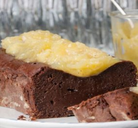 Στέλιος Παρλιάρος: Λαχταριστό κέικ με μαρμελάδα μπανάνα – Υγρή υφή & σοκολατένια γεύση στον απόλυτο συνδυασμό με μπανάνα - Κυρίως Φωτογραφία - Gallery - Video