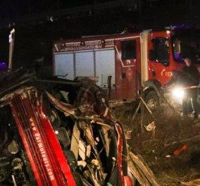 Λεωφορείο με 50 επιβάτες ανετράπη έξω από τα Σκόπια - 14 νεκροί, 30 τραυματίες - Κυρίως Φωτογραφία - Gallery - Video