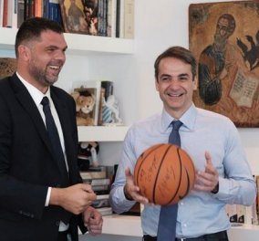 Δημήτρης Παπανικολάου: Υποψήφιος βουλευτής με τη ΝΔ ο πρώην μπασκετμπολίστας - Κυρίως Φωτογραφία - Gallery - Video
