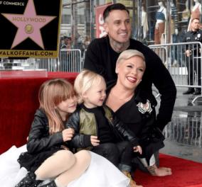 Το δικό της «αστέρι» στο Hollywood Walk Of Fame απέκτησε η Pink - Κυρίως Φωτογραφία - Gallery - Video