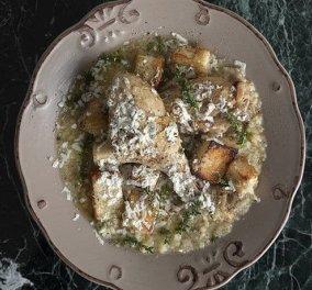 Άκης Πετρετζίκης: Κοτόπουλο με τραχανά, ένα θρεπτικό και δυναμωτικό πιάτο - Κυρίως Φωτογραφία - Gallery - Video