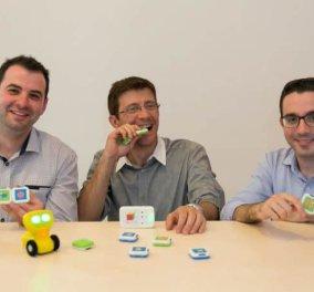 Made in Greece το RoboTiles: Ο προγραμματισμός γίνεται παιχνίδι & «διδάσκεται» με ρομποτική & έξυπνους κύβους από Έλληνες σε παιδιά από 3 ετών! - Κυρίως Φωτογραφία - Gallery - Video