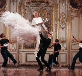 Πως αποχαιρετούν τον Καρλ Λάγκερφελντ ο Βαλεντίνο, η Κάρλα Μπρούνι, η Λίντα Εβαντζέλιστα , ο Νίκος Αλιάγας (φώτο) - Κυρίως Φωτογραφία - Gallery - Video