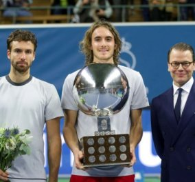 Very good news από το τένις: Ο Στέφανος Τσιτσιπάς κέρδισε το τρόπαιο στο τουρνουά ATP 250 στην Μασσαλία (βίντεο) - Κυρίως Φωτογραφία - Gallery - Video