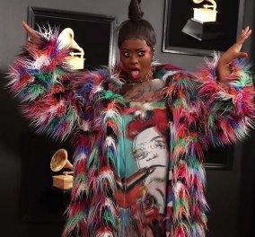 Όλα τα λεφτά στα Grammys! Οι ποιο κακοντυμένες, σαν μπαλόνια, σαν μανιτάρια, σαν cartoon Τζένερ, Cardi B (φωτο & βίντεο) - Κυρίως Φωτογραφία - Gallery - Video