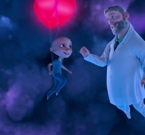 """""""Η αγάπη δεν μας απογοητεύει ποτέ"""": Δείτε το συγκινητικό animation για τα παιδιά με καρκίνο - Θα δακρύσετε (βίντεο) - Κυρίως Φωτογραφία - Gallery - Video"""