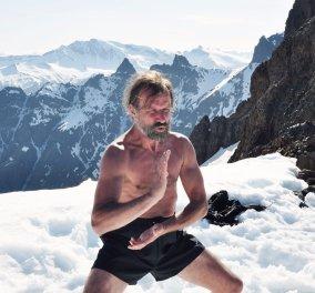 Μέθοδος θεραπείας με… πάγο από τον... «Iceman» (βίντεο)  - Κυρίως Φωτογραφία - Gallery - Video