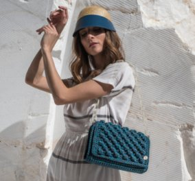 Αποκλ. Made in Greece οι Miss Polyplexi: Η Βασιλική Θεοδώρου πλέκει τσάντες των ονείρων μας – Η νέα καλοκαιρινή κολεξιόν, αποθέωση!  - Κυρίως Φωτογραφία - Gallery - Video