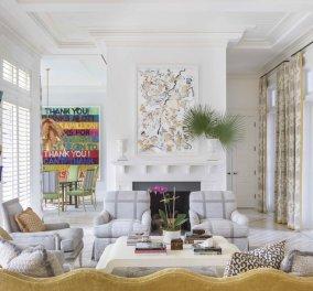 Εσείς θα συνδυάζατε το λιλά με το μουσταρδί στην διακόσμηση του σπιτιού σας; - Εδώ φαίνεται πως ταιριάζουν τέλεια! (φώτο) - Κυρίως Φωτογραφία - Gallery - Video