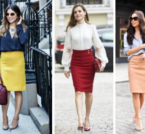 Πως μπορείς να φορέσεις μια pencil φούστα; 30+ εξαιρετικές επιλογές! Φώτο  - Κυρίως Φωτογραφία - Gallery - Video