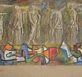 """Ο Παύλος Σάμιος & η """"Σπασμένη Ιστορία"""" στο Βυζαντινό Μουσείο - Μια διαφορετική εικαστική προσέγγιση των μύθων (φώτο) - Κυρίως Φωτογραφία - Gallery - Video"""