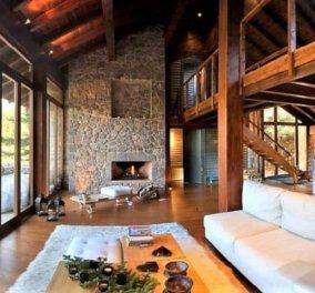 Stoδaσos: Ένα πανέμορφο πέτρινο chalet στην καρδιά του… δάσους του Παρνασσού – Bραβευμένο για την αρχιτεκτονική του - Κυρίως Φωτογραφία - Gallery - Video