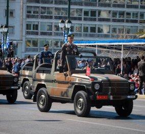 25η Μαρτίου: Μεγαλειώδης στρατιωτική παρέλαση στο κέντρο της Αθήνας - Συγκίνηση & από την Θεσσαλονίκη - Φώτο & Βίντεο  - Κυρίως Φωτογραφία - Gallery - Video