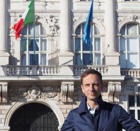 Τον τρολάρει όλη η Ιταλία γιατί έπαθε ανεμοβλογιά ενώ ήταν φανατικός αντεμβολιαστής  - Κυρίως Φωτογραφία - Gallery - Video