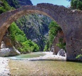 Μοναδική θέα από το γεφύρι του Πετρωτού στην πανέμορφη Καρδίτσα (βίντεο) - Κυρίως Φωτογραφία - Gallery - Video