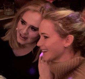 Αντέλ και Τζένιφερ Λόρενς πήγαν μαζί σε γκέι μπαρ & τα έδωσαν όλα - Τα βίντεο κάνουν το γύρο του κόσμου - Κυρίως Φωτογραφία - Gallery - Video