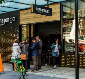 Η Amazon ανοίγει δεκάδες παντοπωλεία - Πως εκσυγχρονίζεται ο ανταγωνισμός (βίντεο) - Κυρίως Φωτογραφία - Gallery - Video