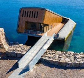 Πάμε να φάμε στο πρώτο υποβρύχιο εστιατόριο της Ευρώπης - Ημιβυθισμένο στα νερά της Νορβηγίας (φωτό) - Κυρίως Φωτογραφία - Gallery - Video