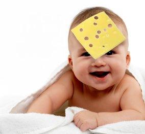 Cheese Challenge ή αλλιώς τυρί στο πρόσωπο του μωρού - Η νέα μόδα που διχάζει το διαδίκτυο (φώτο-βίντεο) - Κυρίως Φωτογραφία - Gallery - Video