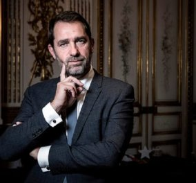 Γαλλία: 35χρονη δημοσιογράφος  της τηλεόρασης το κορίτσι που φιλούσε ο υπουργός Εσωτερικών (φώτο-βίντεο) - Κυρίως Φωτογραφία - Gallery - Video