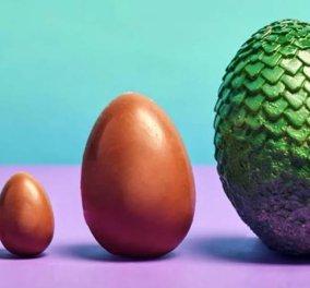 «Easter is here»: Κυκλοφόρησαν σοκολατένια αυγά... δράκων αλά Game Of Thrones (βίντεο) - Κυρίως Φωτογραφία - Gallery - Video